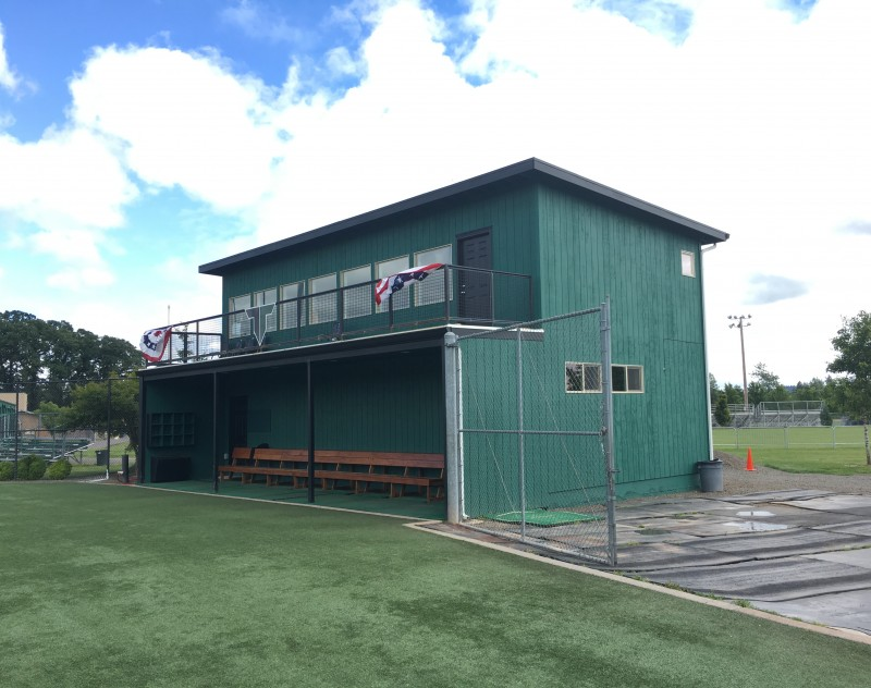 Tigard High School Baseball Clubhouse School & Government